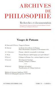 Cahier 79-4. Visages de Putnam