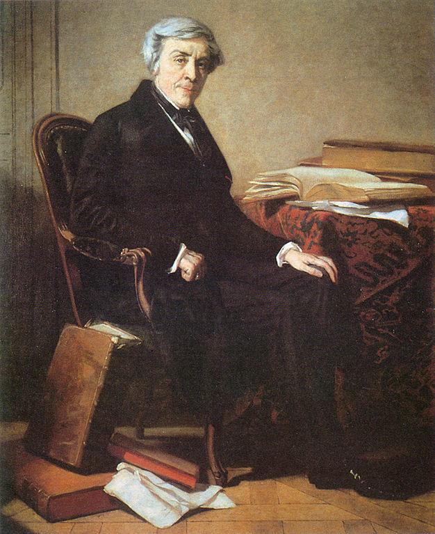 Jules Michelet, portrait par Thomas Couture