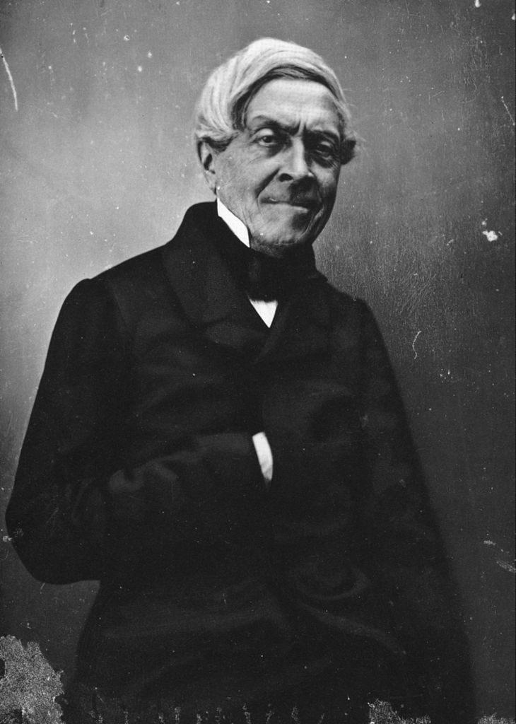 Jules Michelet, photographié par Nadar