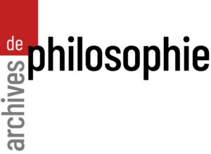 logo des Archives de philosophie